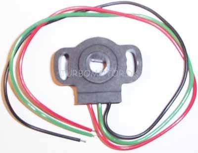 Throttle position sensor for electromotive tech gt
